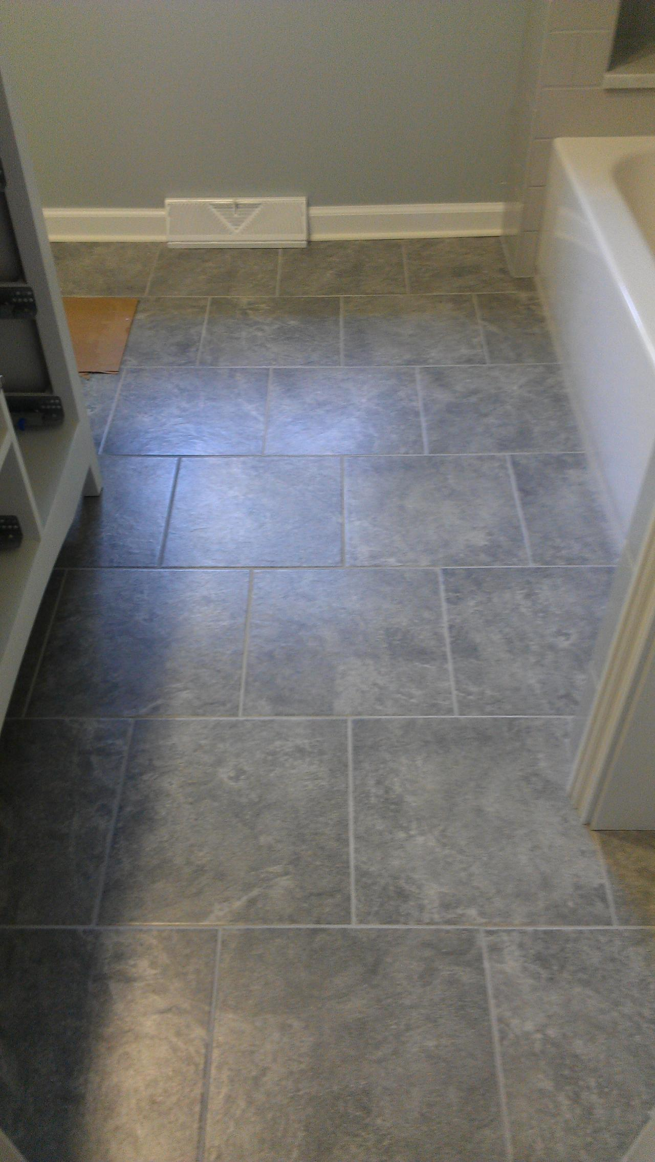floor our and tile ceramic how bathrooms diy do i great painting painted detailing gray a bathroom simple it s post to floors