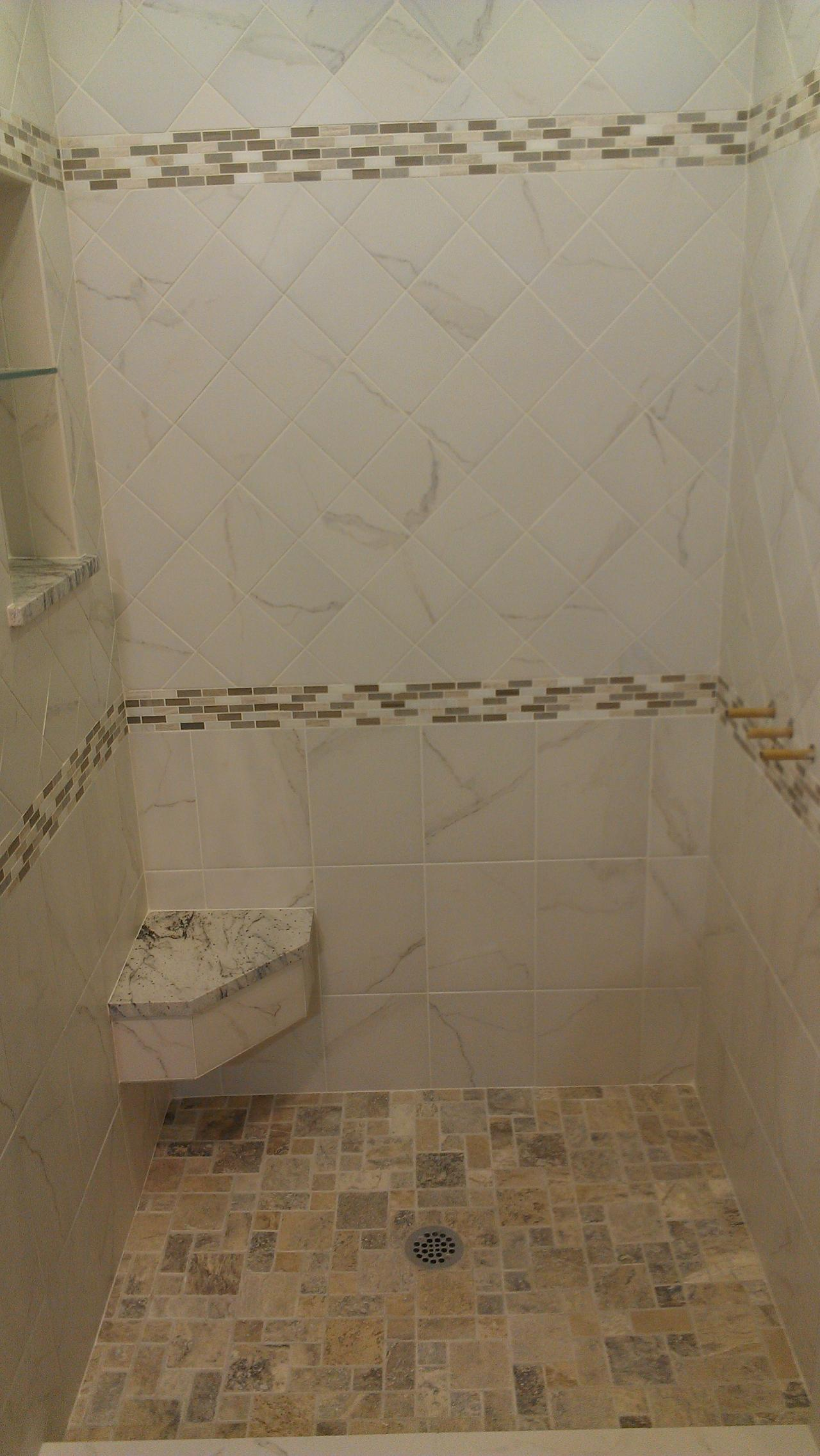 Nest homes construction lyndhurst bathroom design idea - Nest Homes Construction Floor And Wall Tile Designs