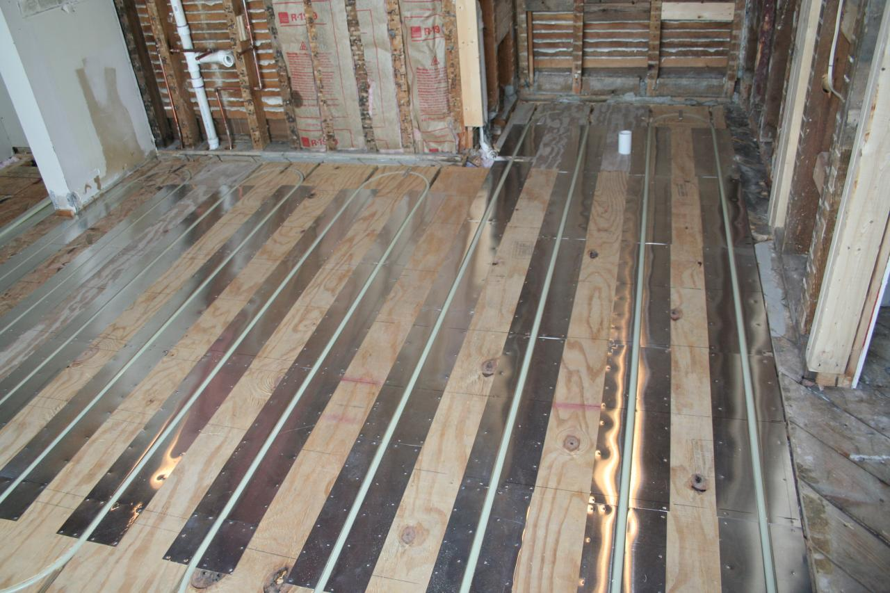 Radiant Floor Heat ...