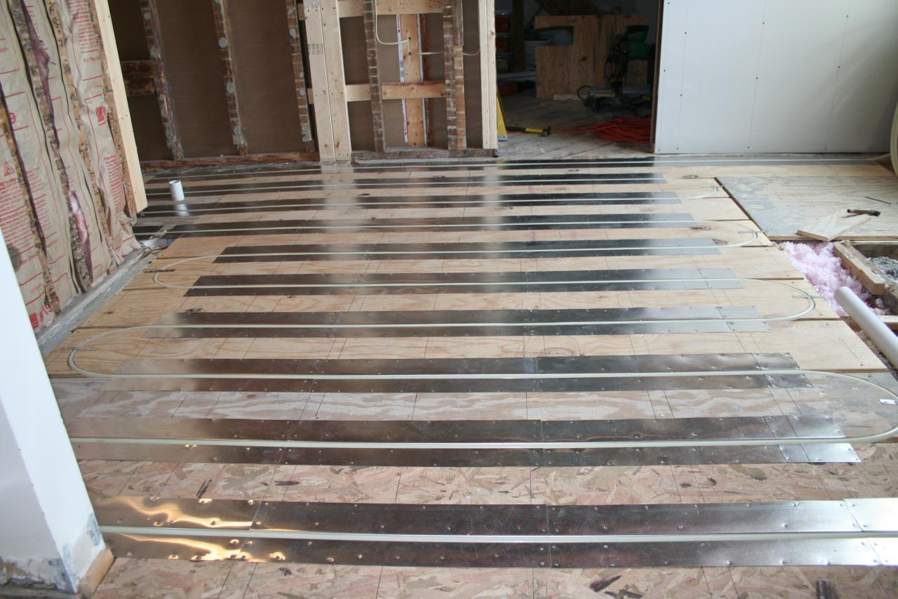 Radiant Floor Heat · Heat Spreader ...